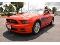 2014 Race Red Ford Mustang V6 Premium Coupe #96045469