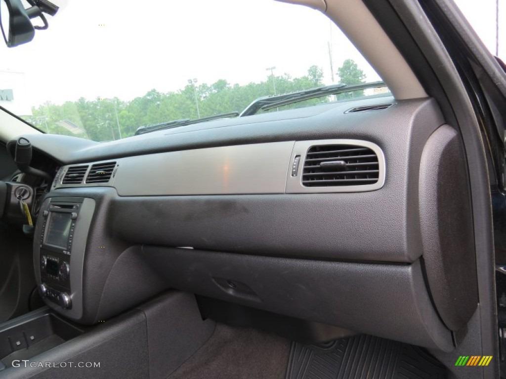2013 Silverado 1500 LTZ Extended Cab - Black / Ebony photo #18