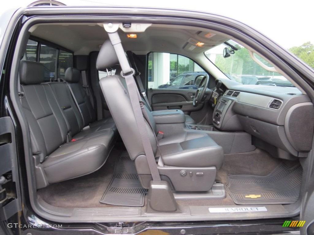 2013 Silverado 1500 LTZ Extended Cab - Black / Ebony photo #19