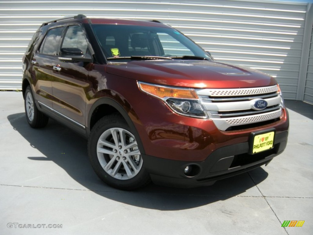 2015 ford explorer xlt bronze fire color charcoal black interior 2015