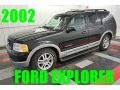 Black Clearcoat 2002 Ford Explorer XLT 4x4