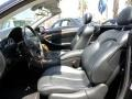 Front Seat of 2006 CLK 500 Cabriolet