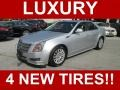 Radiant Silver Metallic 2010 Cadillac CTS 3.0 Sedan