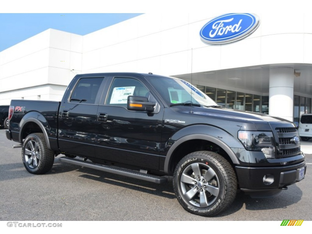 2014 tuxedo black ford f150 fx4 supercrew 4x4 96125505 car color galleries. Black Bedroom Furniture Sets. Home Design Ideas