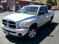 2006 Bright Silver Metallic Dodge Ram 1500 SLT Quad Cab 4x4  photo #1