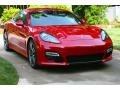 Carmine Red Uni 2013 Porsche Panamera GTS