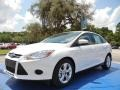 Oxford White 2014 Ford Focus SE Sedan