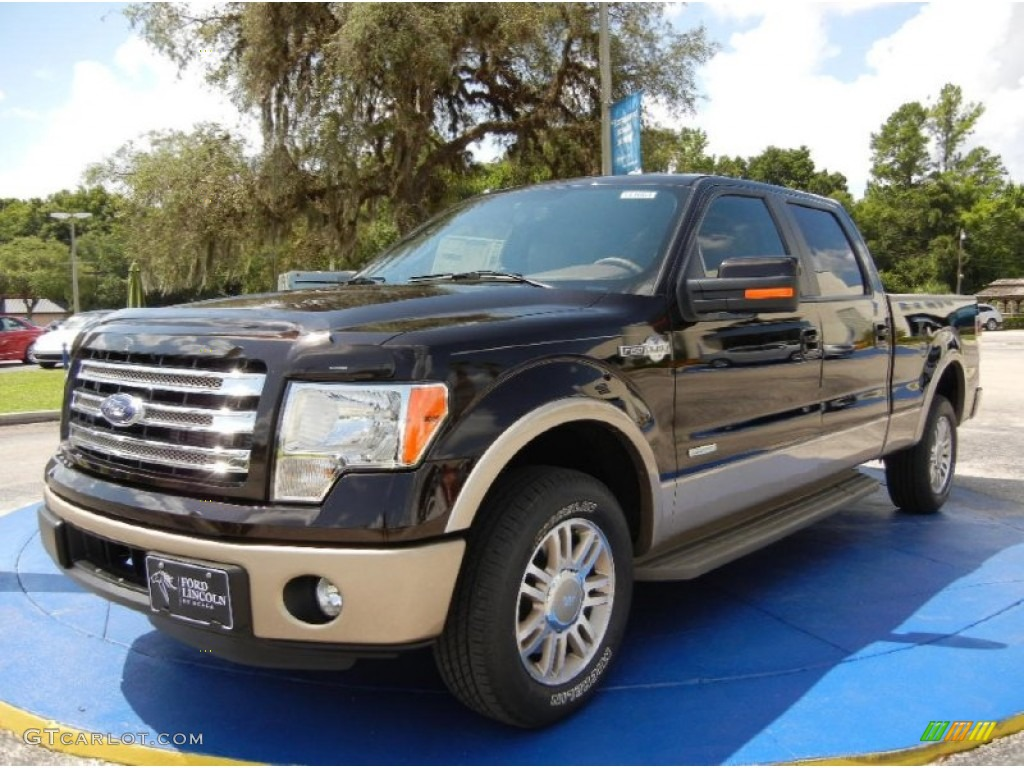 2014 kodiak brown ford f150 king ranch supercrew 96160305 car color galleries. Black Bedroom Furniture Sets. Home Design Ideas