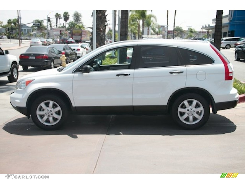 2011 CR-V SE - Taffeta White / Gray photo #9