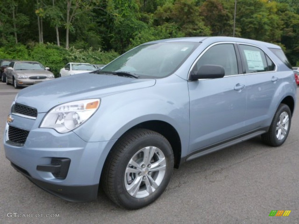 2015 Equinox LS AWD - Silver Topaz Metallic / Jet Black photo #1