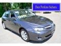 Dark Gray Metallic 2010 Subaru Impreza 2.5i Wagon