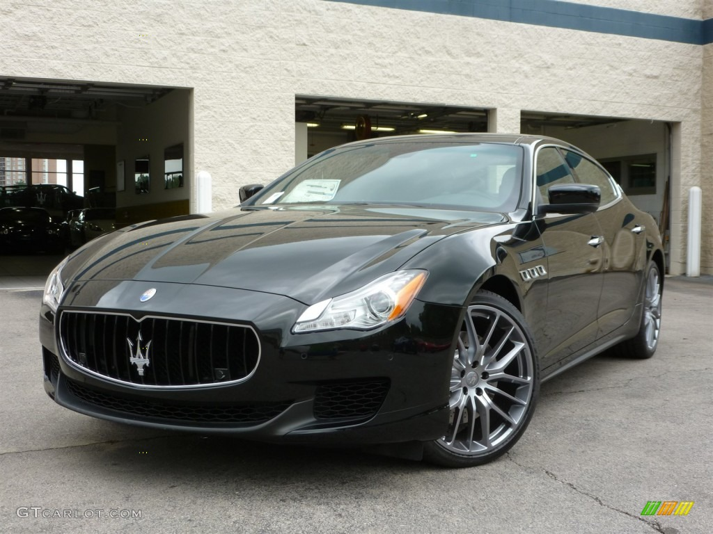 nero black 2014 maserati quattroporte s q4 awd exterior photo 96247356. Black Bedroom Furniture Sets. Home Design Ideas