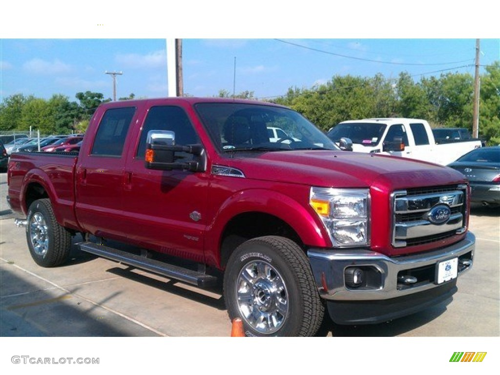 2015 ruby red ford f250 super duty king ranch crew cab 4x4 96248966 photo 4. Black Bedroom Furniture Sets. Home Design Ideas