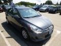 Cyclone Gray 2012 Hyundai Accent GLS 4 Door