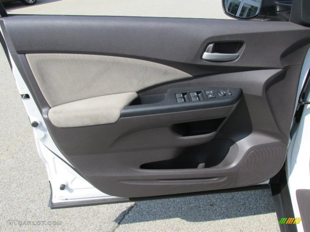 2012 CR-V EX 4WD - White Diamond Pearl / Gray photo #6