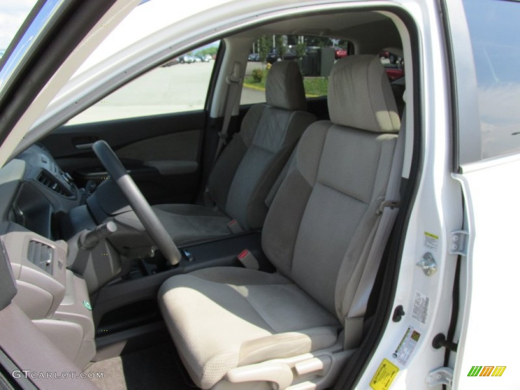 2012 CR-V EX 4WD - White Diamond Pearl / Gray photo #7