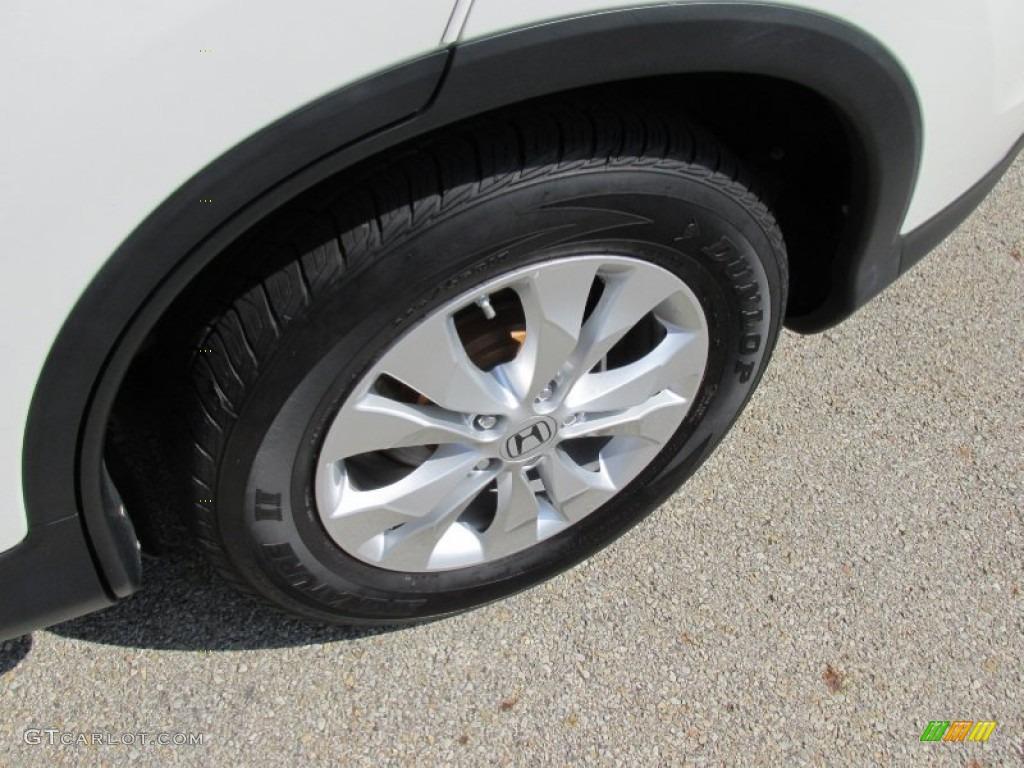 2012 CR-V EX 4WD - White Diamond Pearl / Gray photo #16