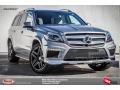 Palladium Silver Metallic 2015 Mercedes-Benz GL 550 4Matic