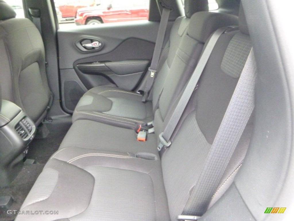Black Interior 2015 Jeep Cherokee Latitude 4x4 Photo 96284259