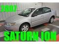 Silver Nickel 2007 Saturn ION 2 Sedan