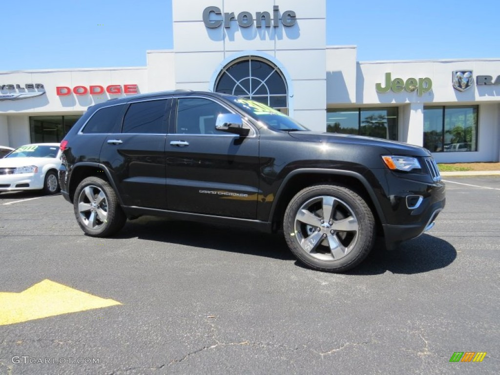 2015 grand cherokee limited brilliant black crystal pearl black photo 1