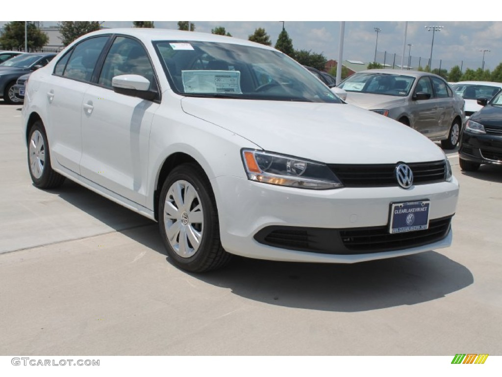 2014 pure white volkswagen jetta se sedan 96290466 photo. Black Bedroom Furniture Sets. Home Design Ideas