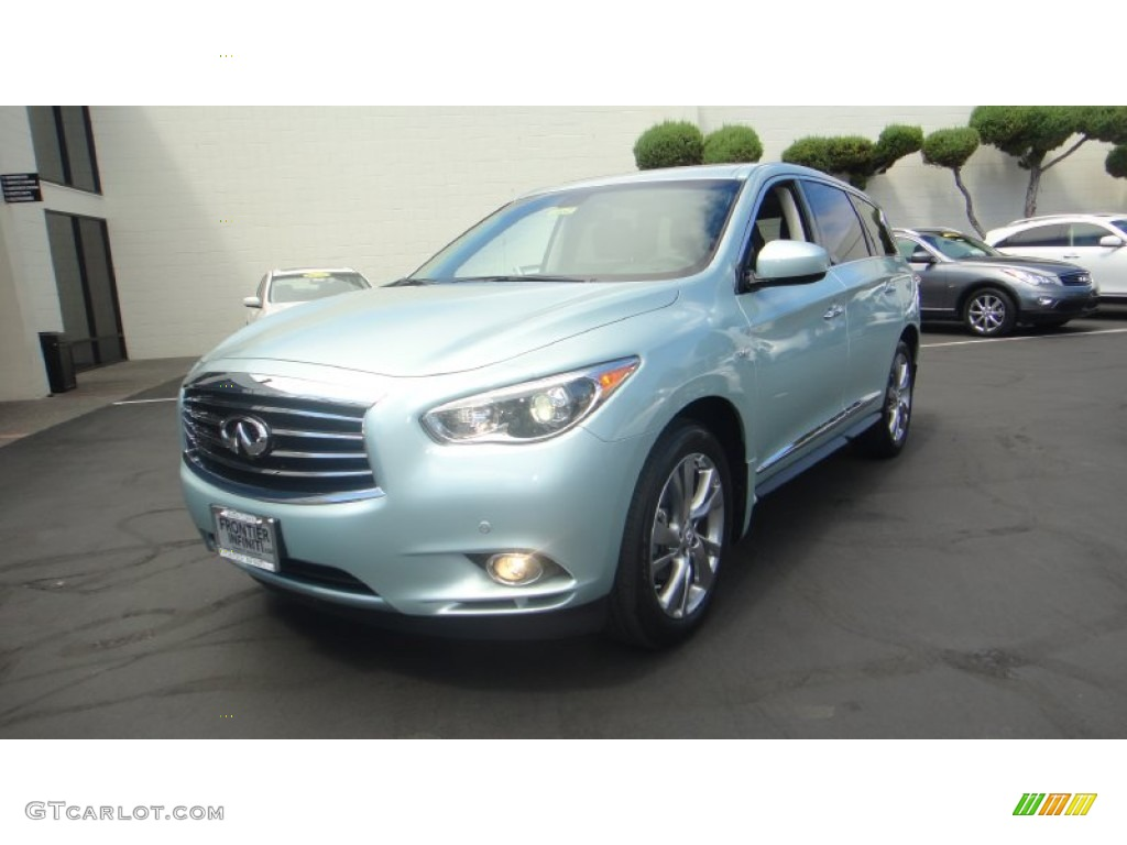 2014 glacial silver infiniti qx60 hybrid awd 96290531 car color galleries. Black Bedroom Furniture Sets. Home Design Ideas