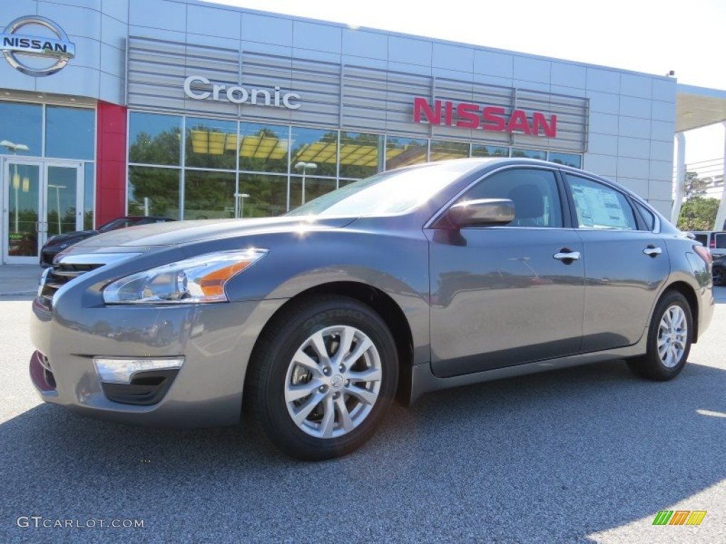 2014 gun metallic nissan altima 2 5 s 96290355 car color galleries. Black Bedroom Furniture Sets. Home Design Ideas