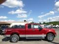2014 Ruby Red Ford F150 XLT SuperCab 4x4  photo #1