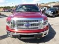 2014 Ruby Red Ford F150 XLT SuperCab 4x4  photo #3