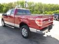 2014 Ruby Red Ford F150 XLT SuperCab 4x4  photo #6
