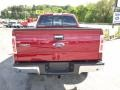 2014 Ruby Red Ford F150 XLT SuperCab 4x4  photo #7