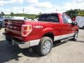 2014 Ruby Red Ford F150 XLT SuperCab 4x4  photo #8
