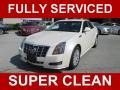 White Diamond Tricoat 2012 Cadillac CTS 3.0 Sedan