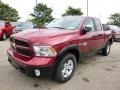 Deep Cherry Red Crystal Pearl - 1500 SLT Quad Cab 4x4 Photo No. 2