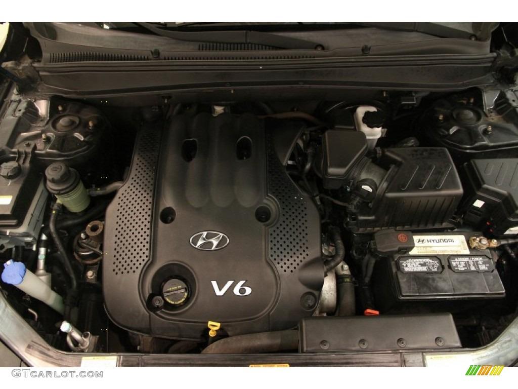 2007 Hyundai Santa Fe Gls 4wd 2 7 Liter Dohc 24 Valve Vvt V6 Engine Photo 96362130 Gtcarlot Com