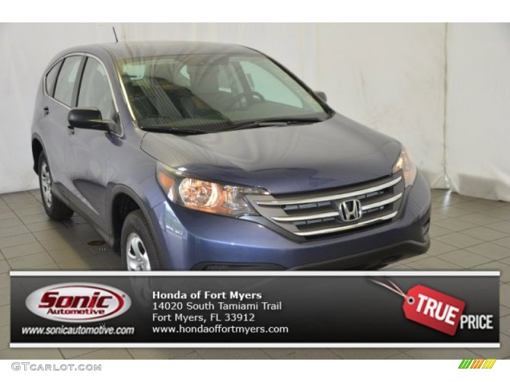 Twilight Blue Metallic Honda CR-V
