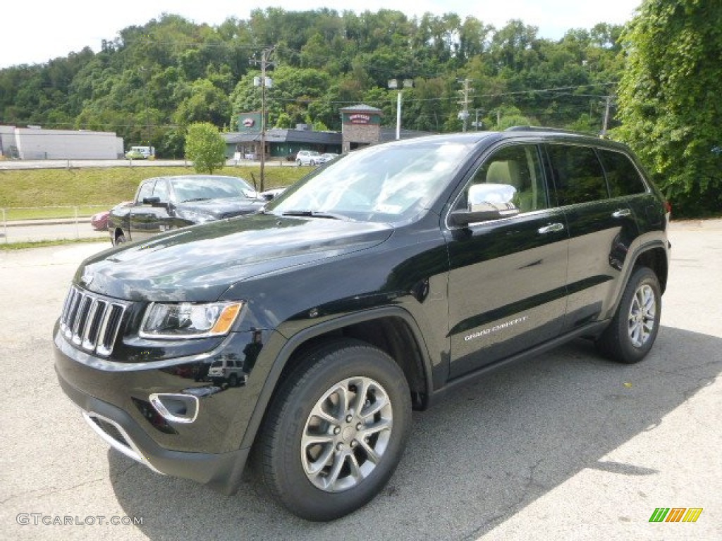 2015 black forest green pearl jeep grand cherokee limited. Black Bedroom Furniture Sets. Home Design Ideas