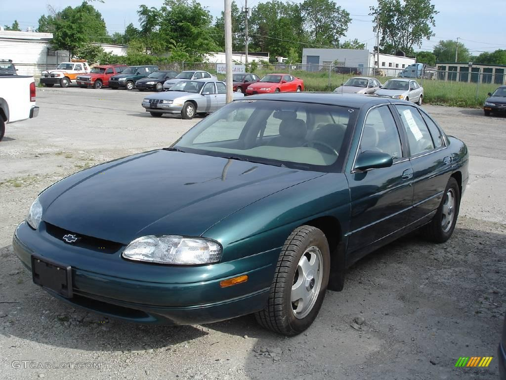 1998 dark jade green metallic chevrolet lumina ltz 9635181 gtcarlot com car color galleries gtcarlot com