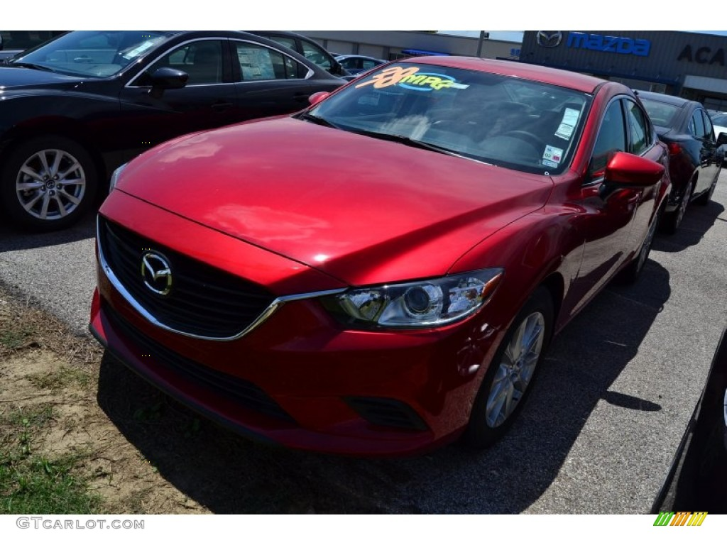 2015 soul red metallic mazda mazda6 sport 96420527. Black Bedroom Furniture Sets. Home Design Ideas