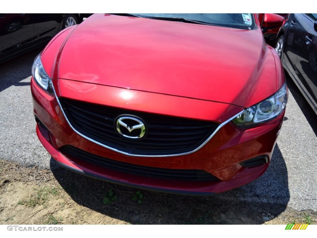 2015 mazda mazda6 sport soul red metallic color sand interior. Black Bedroom Furniture Sets. Home Design Ideas