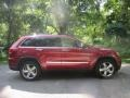 Deep Cherry Red Crystal Pearl 2012 Jeep Grand Cherokee Limited 4x4