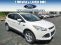 2014 White Platinum Ford Escape SE 1.6L EcoBoost 4WD  photo #1