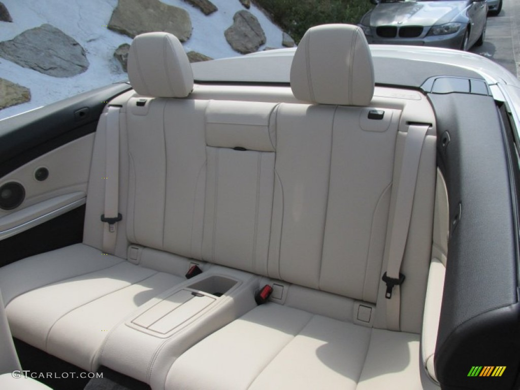 2015 bmw 4 series 428i convertible rear seat photo #96478611