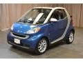 Blue Metallic 2008 Smart fortwo passion cabriolet