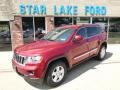 Deep Cherry Red Crystal Pearl 2012 Jeep Grand Cherokee Laredo 4x4