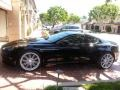 Jet Black 2009 Aston Martin DBS Coupe