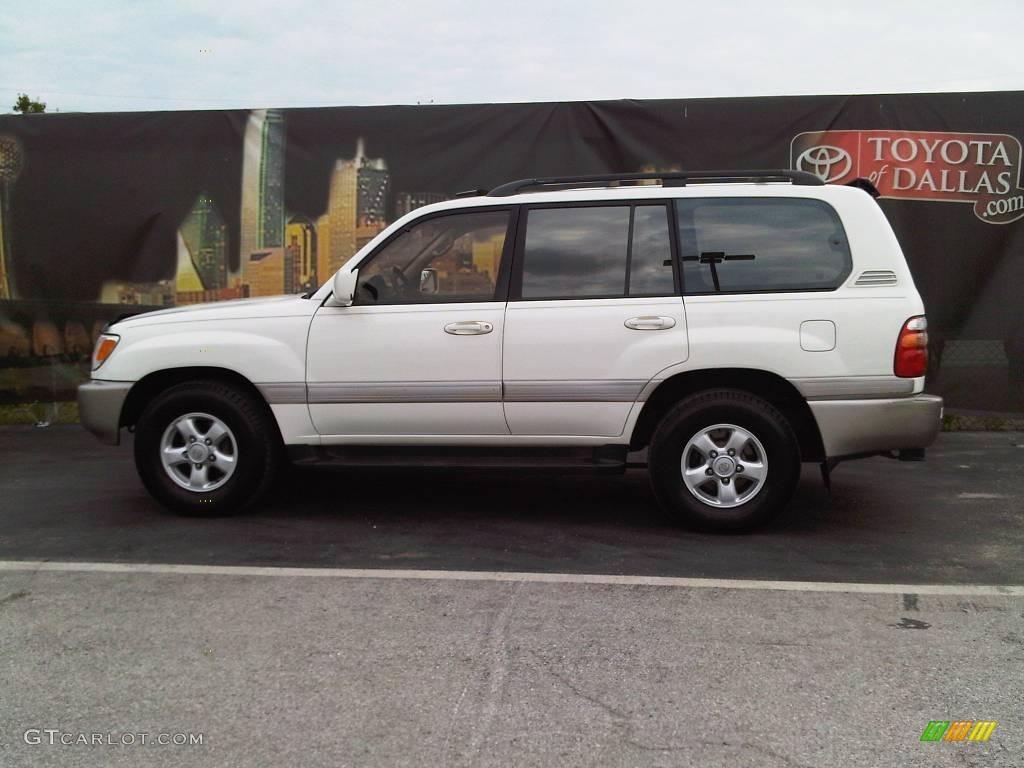 1999 natural white toyota land cruiser 9623457 gtcarlot com car color galleries gtcarlot com