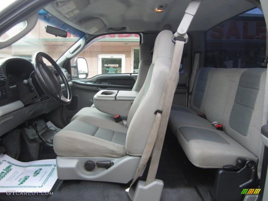 2007 Ford F250 Super Duty Xl Supercab 4x4 Interior Color Photos