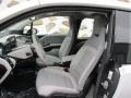 2014 BMW i3 Mega Carum Spice Grey Sensatec/Carum Spice Grey Cloth Interior Interior Photo